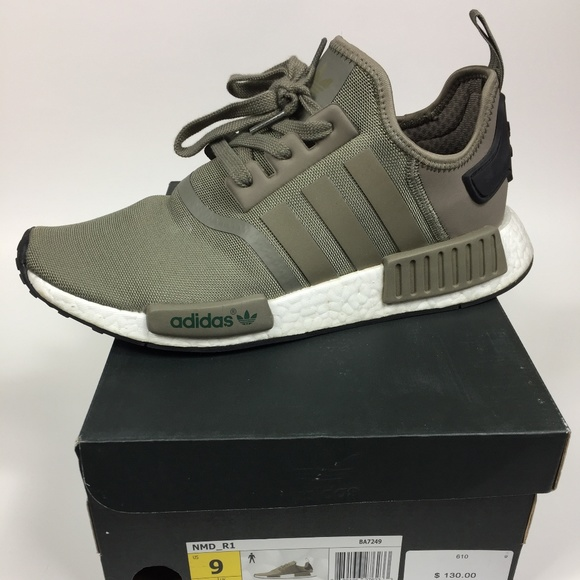 meet high quality best online Men's Size 9 Adidas NMD R1 Olive Green Sneakers